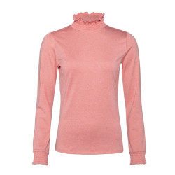 PULL ZOOM POWERSTRETCH TOP THINK PINK
