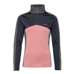 PULL ODENSE 1/4 ZIP TOP THINK PINK