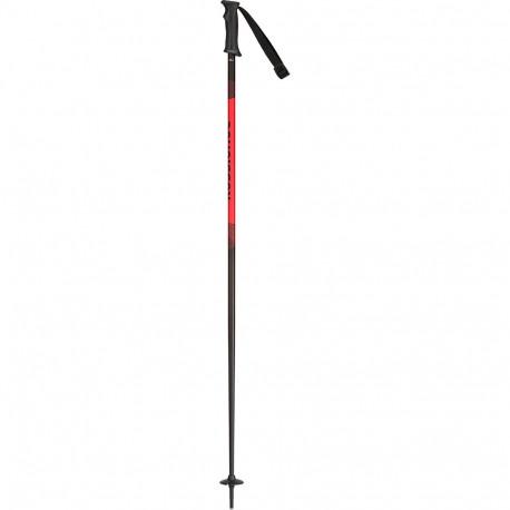 BATONS DE SKI TACTIC BLACK/RED