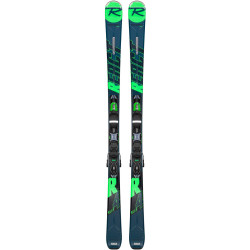 SKI REACT R4 SPORT CA + FIXATIONS XPRESS 10 B83 BLACK/GREEN