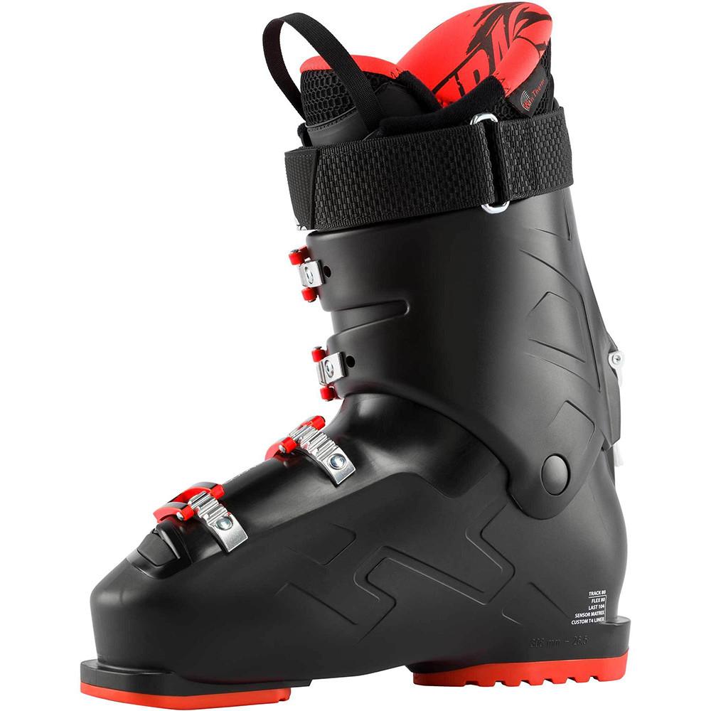 SKI BOOTS TRACK 80 BLACK/RED