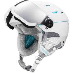 CASQUE DE SKI ALLSPEED VISOR IMPACTS W WHITE