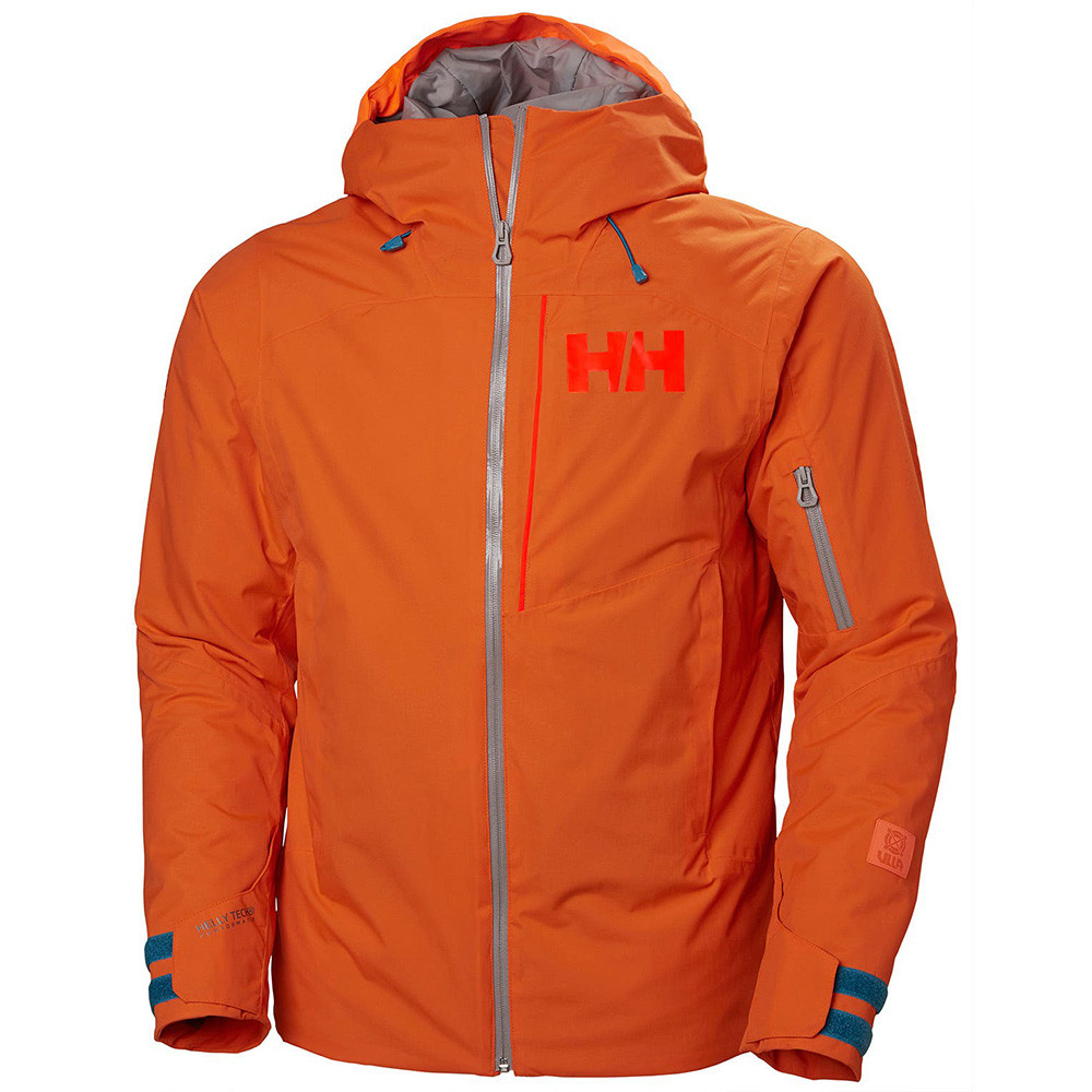 VESTE DE SKI POWJUMPER BRIGHT ORANGE