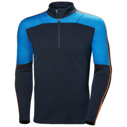 PULL LIFA MERINO 1/2 ZIP ELECTRIC BLUE