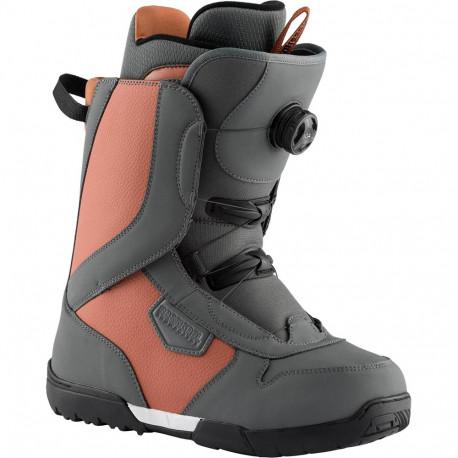 BOOTS DE SNOWBOARD CRANK BOA H3 BROWN/GREY
