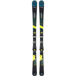 SKI REACT R8 HP + FIXATIONS NX12 KONECT GW B80 BK/YELLOW