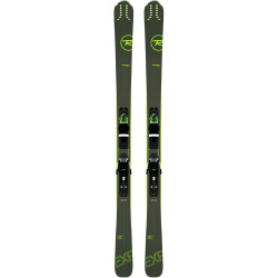 SKI EXPERIENCE 80 CI + FIXATIONS XPRESS 11 GW B83 BLACK/GREEN