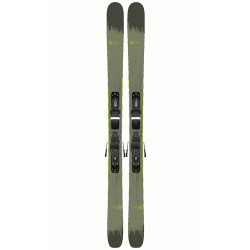 SKI SMASH 7 + FIXATIONS XPRESS 10 B93 BLACK