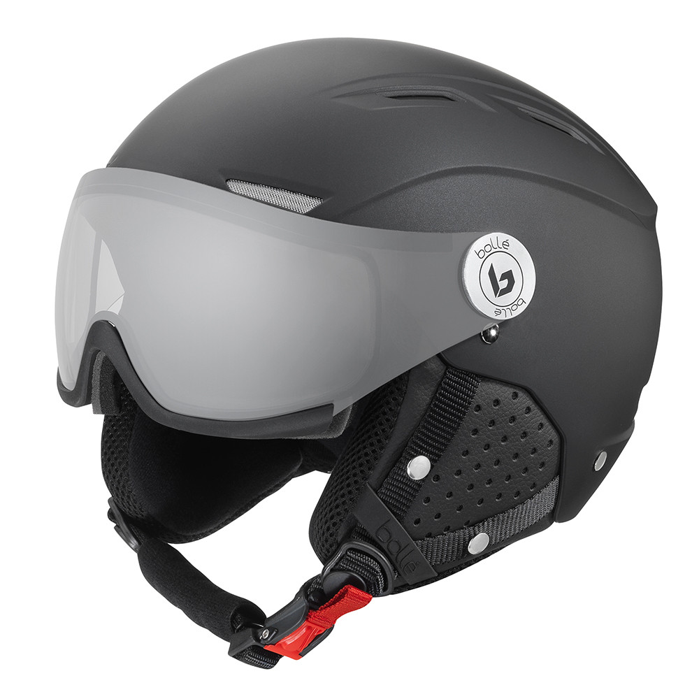 CASQUE DE SKI BACKLINE VISOR PREMIUM MATTE GALAXY BLACK W PHOTOCHROMIC SILVER