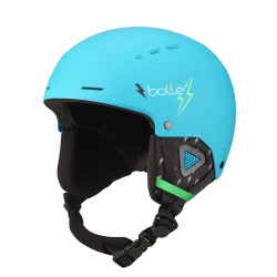 CASQUE DE SKI QUIZ MATTE CYAN FLASH