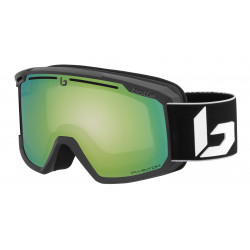 MASQUE DE SKI MADDOX MATTE BLACK CORP PHANTOM GREEN EMERALD