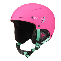 CASQUE DE SKI QUIZ MATTE PINK FLASH