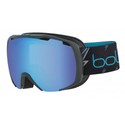 MASQUE DE SKI ROYAL MATTE BLACK FLASH AURORA