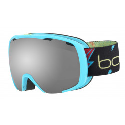 MASQUE DE SKI ROYAL MATTE BLUE FLASH BLACK CHROME
