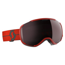 MASQUE DE SKI FAZE II RED ENHANCER SILVER CHROME