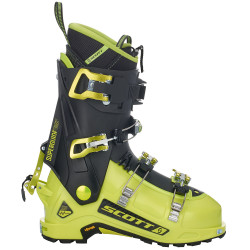 SKI TOURING BOOTS SUPERGUIDE CARBON LIME/GREEN BLACK