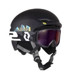CASQUE DE SKI KEEPER 2 - COMBO BLACK + GOGGLE JR WITT