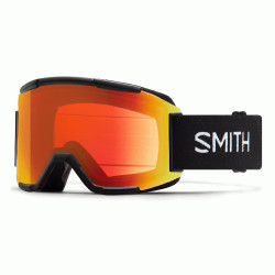 MASQUE DE SKI SQUAD BLACK CHROMAPOP PHOTOCHROMIC RED MIRROR