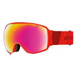 MASQUE DE SKI COUNT 360° HD RED