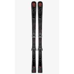 SKI S/FORCE 11 + BINDINGS Z12 GW GREY/BLACK/RED F80