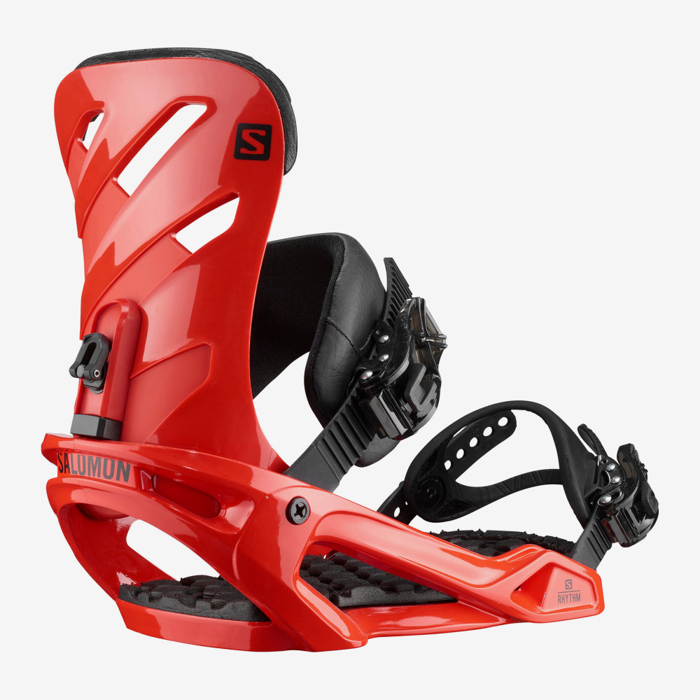 SNOWBOARD PULSE + FIXATIONS RHYTHM RED