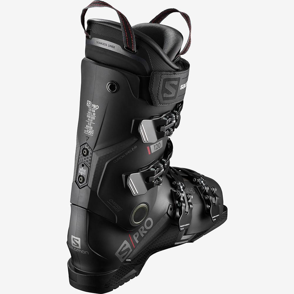 SKI BOOTS S/PRO 120 BLACK/BELLUGA/RED
