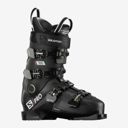 SKI BOOTS S/PRO 100 BLACK/BELLUGA/RED