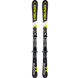 SKI SHAPE 3.0 + FIXATIONS SX 10 BR.78 SILVER/BLACK