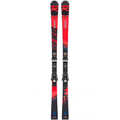 SKI HERO ELITE LT TI R22 + FIXATIONS SPX 12 ROCKERACE BLACK/ICON