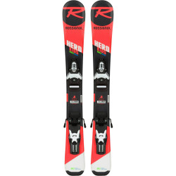SKI HERO PRO + FIXATIONS TEAM 4