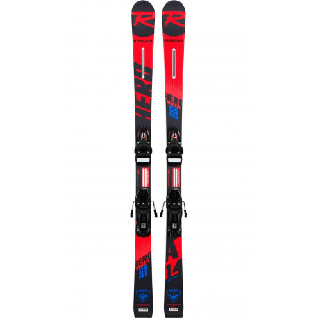 SKI HERO ATHLETE GS OPEN + FIXATIONS NX JR 7 LIFTER B73 BLACK/ICON