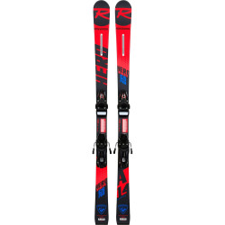 SKI HERO ATHLETE GS OPEN + FIXATIONS NX JR 7 RTL B83 BLACK/WHITE
