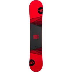 SNOWBOARD DISTRICT + FIXATIONS BATTLE BLACK/RED XL (45-48)