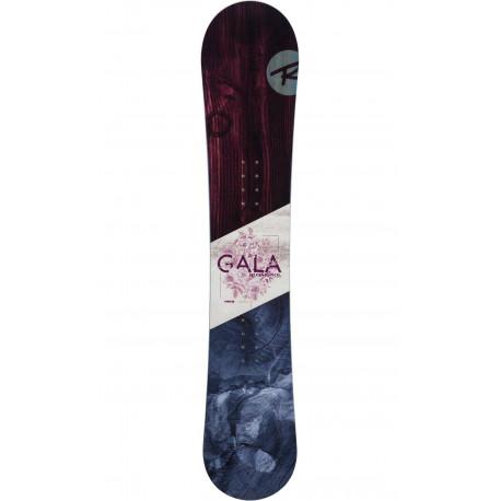 SNOWBOARD GALA + FIXATIONS GALA S/M