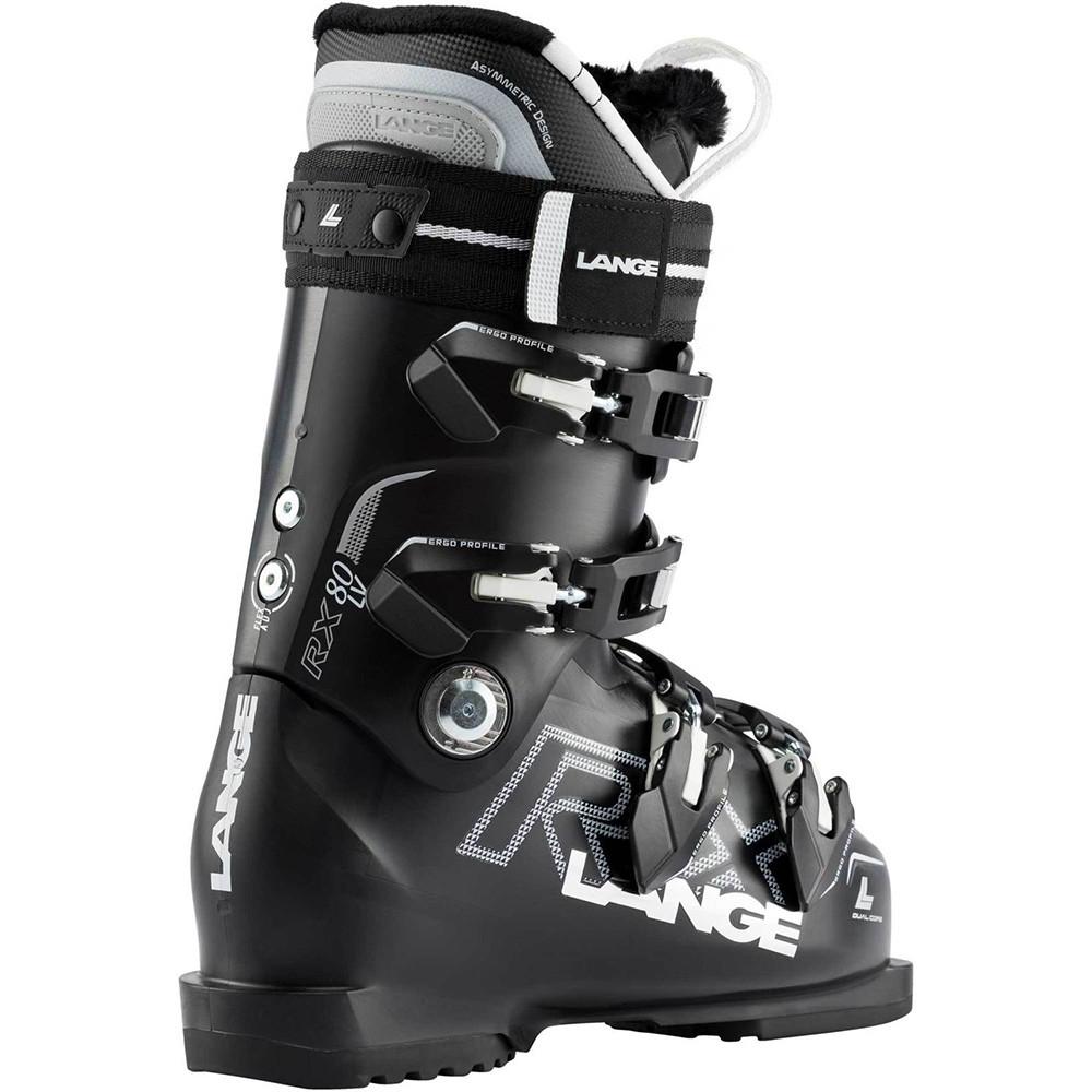 SKI BOOTS RX 80 W L.V. BLACK/PEARL WHITE
