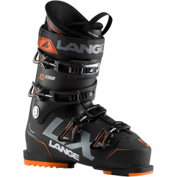 CHAUSSURE DE SKI LX 130 BLACK - ORANGE
