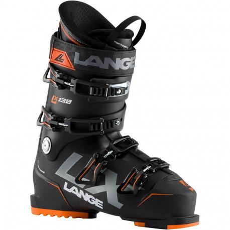 SKI BOOTS LX 130 BLACK/ORANGE
