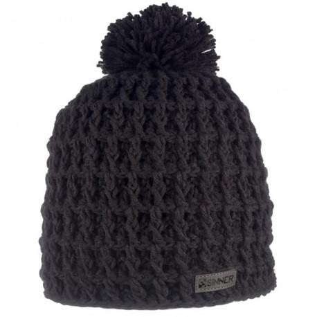 BONNET NORDIC HAT BLACK