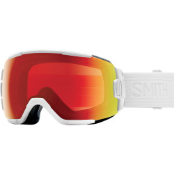 MASQUE DE SKI VICE WHITE VAPOR CHROMAPOP PHOTOCHROMIC RED MIRROR