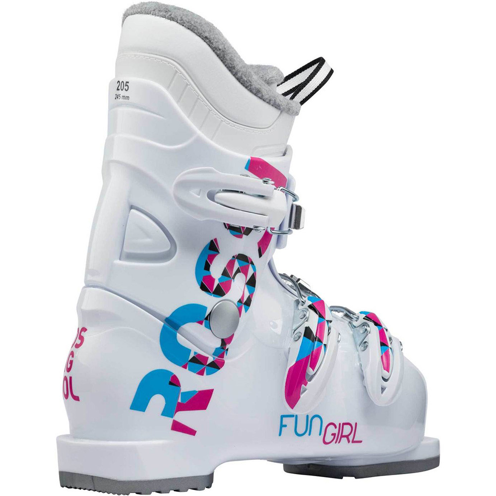 SKI BOOTS FUN GIRL J3 WHITE