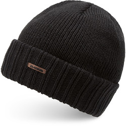 BONNET HARVEY BLACK SOLID