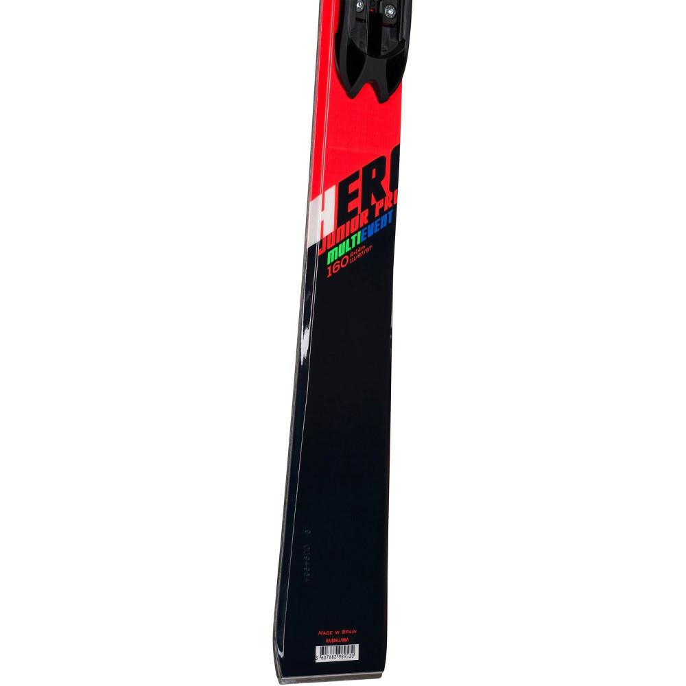SKI HERO JR MULTI-EVENT + FIXATIONS XPRESS JR 7 B83 BLACK/WHITE