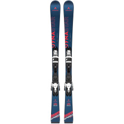 SKI TEAM SPEEDZONE + FIXATIONS XPRESS JR 7 B83 BLACK/WHITE