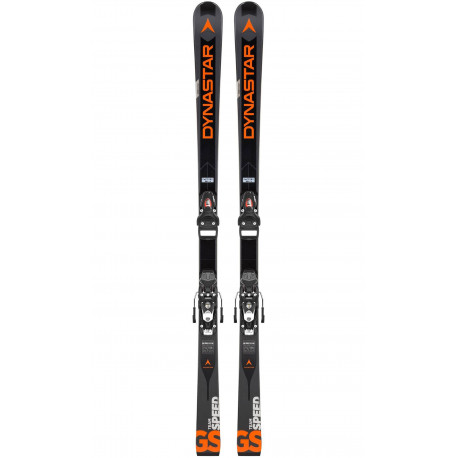 SKI SPEED TEAM GS R20 PRO + NX JR 10 B73 BLACK/ICON