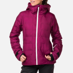 VESTE DE SKI W PORTANCE DOWN JKT DARK PLUM
