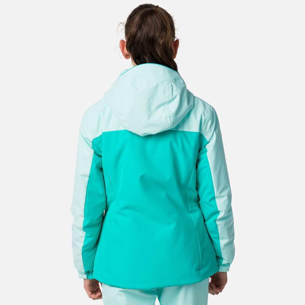 VESTE DE SKI GIRL FONCTION JKT BLUE STENCIL