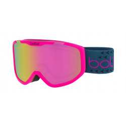 MASQUE DE SKI ROCKET PLUS MATTE PINK & BLUE