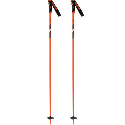BATONS DE SKI FREERIDE 18 ORANGE