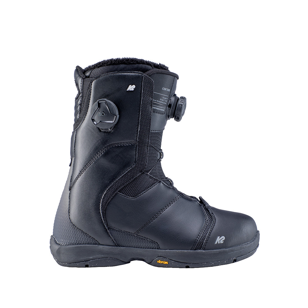 SNOWBOARD BOOTS CONTOUR BLACK