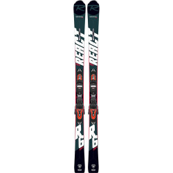SKI REACT R6 COMPACT + FIXATIONS EXPRESS 11 GW B83 HOT RED